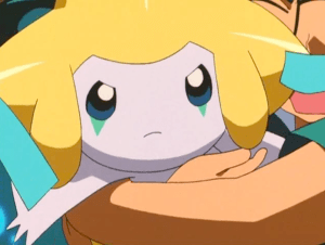 Pokemon Jirachi Wish Maker Angry Jirachi