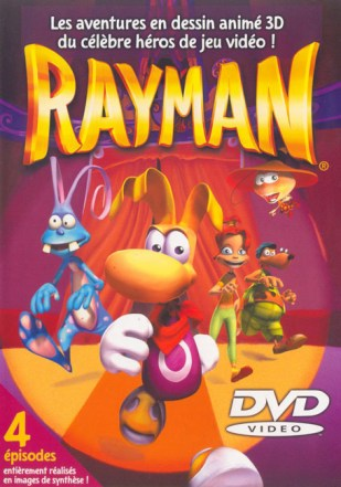 Rayman: The Animated Series DVD cover