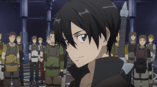 Sword Art Online Kirito thinks he is cooler than you