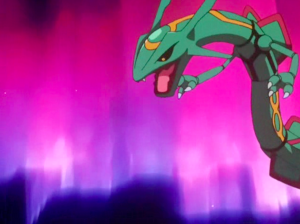 Pokemon Destiny Deoxys Rayquaza