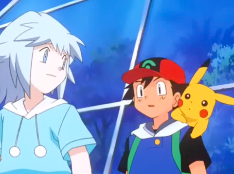 Pokemon Destiny Deoxys Ash Ketchum, Pikachu and Tory