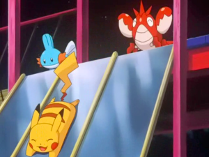 Pokemon Destiny Deoxys Pikachu, Mudkip and Corphish