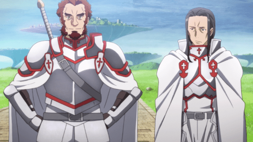 Sword Art Online Godfree and Kuradeel