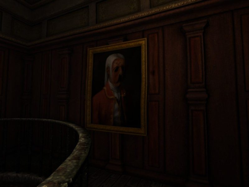 Amnesia: The Dark Descent Transept insane Alexander portrait
