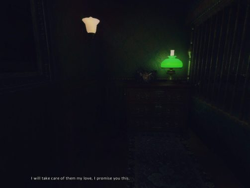 Amnesia: A Machine for Pigs green lamp