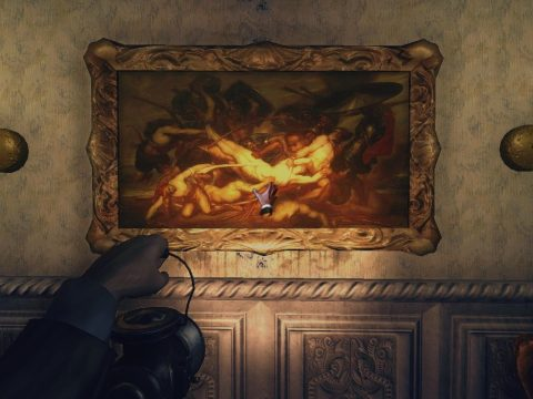 Amnesia: A Machine for Pigs painting