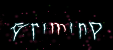 Grimind game logo