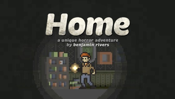 Home: A Unique Horror Adventure title slide