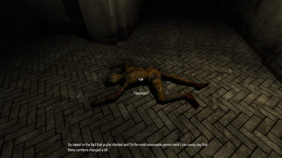 Penumbra: Necrologue Clarence's body