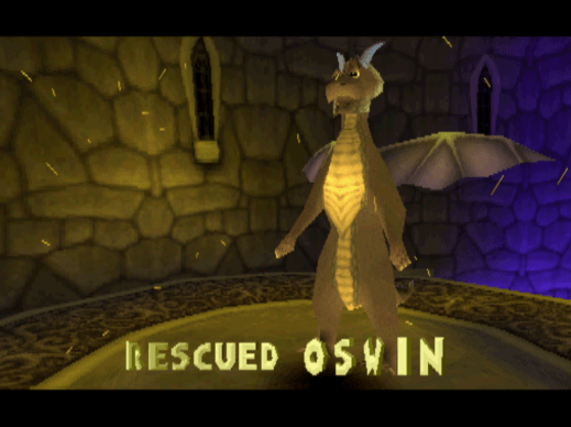 Spyro the Dragon Oswin