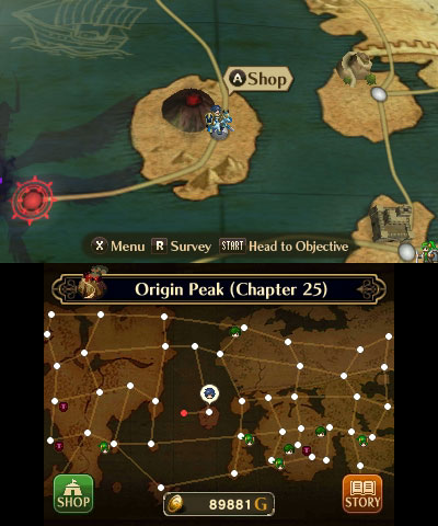 Fire Emblem: Awakening world map