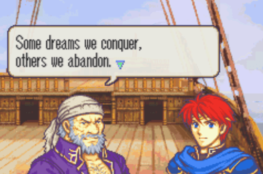 Fire Emblem Rekka no Ken Eliwood and Fargus
