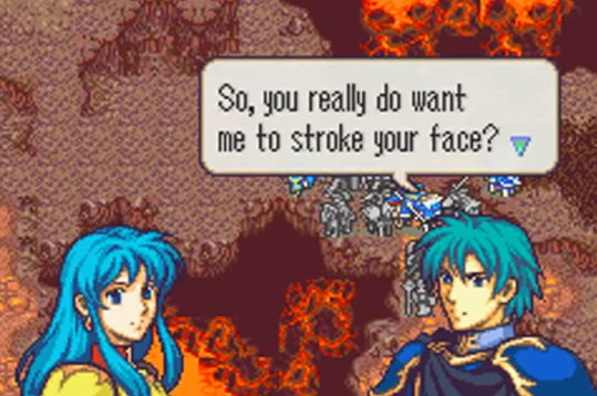 Fire Emblem: The Sacred Stones Eirika and Ephraim