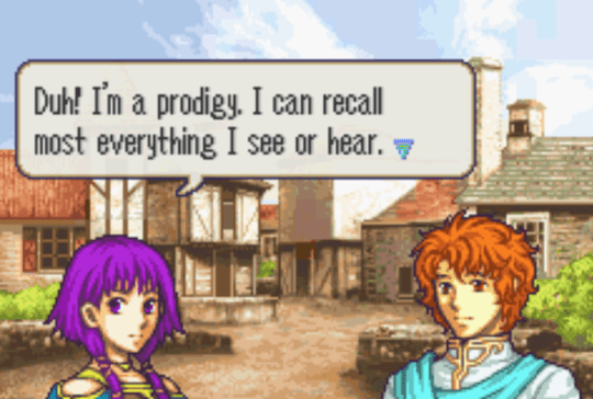 Fire Emblem: The Sacred Stones Lute and Artur