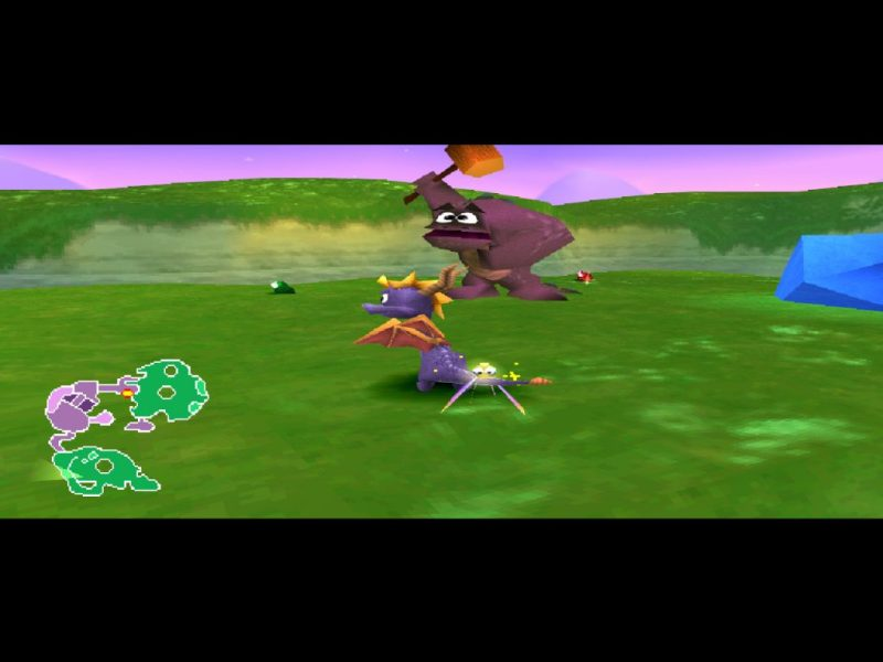 Spyro 2: Ripto's Rage (Gateway to Glimmer) gameplay Glimmer
