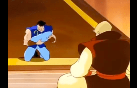Double Dragon: The Animated Series Oldest Dragon and John Lee