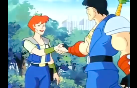 Double Dragon: The Animated Series Billy Lee and Marian Martin