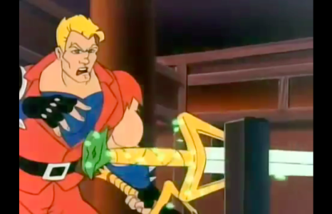 Double Dragon: The Animated Series Jimmy Lee