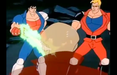 Double Dragon: The Animated Series Billy Lee Jimmy Lee Oldest Dragon
