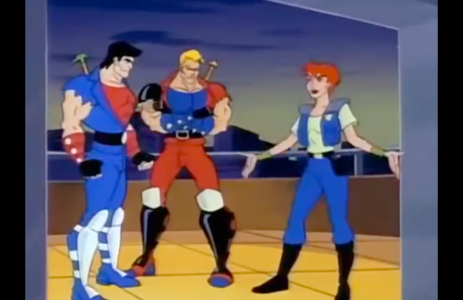Double Dragon: The Animated Series Billy Lee Jimmy Lee Marian Martin
