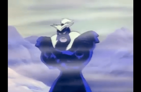 Double Dragon: The Animated Series Shadow Master in blizzard