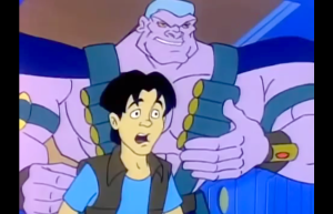 Double Dragon: The Animated Series Trigger Happy and Charles