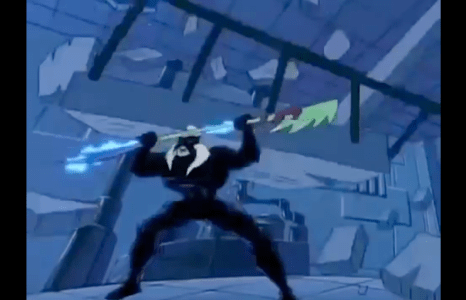 Double Dragon: The Animated Series Shadow Master crushed