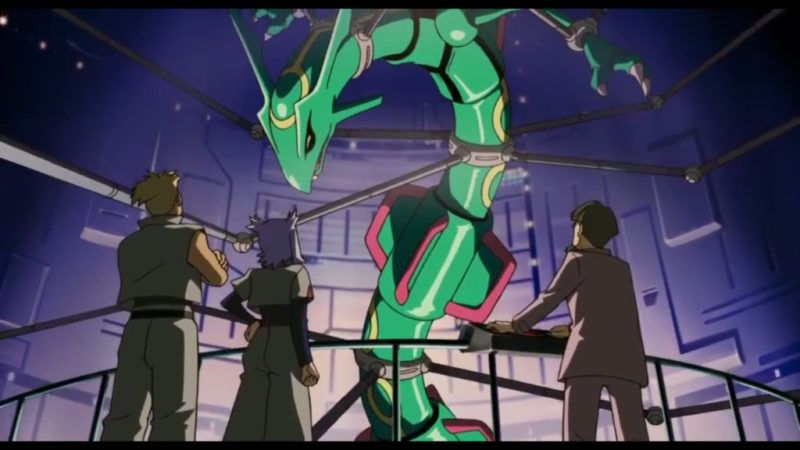 Pokémon Ranger and the Temple of the Sea Rayquaza with Atilla and Hun