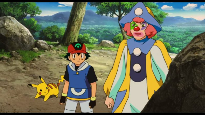 "Pokémon Ranger and the Temple of the Sea Ash Ketchum and clown Jack ""Jackie"" Walker"