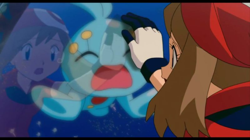 Pokémon Ranger and the Temple of the Sea May and Manaphy