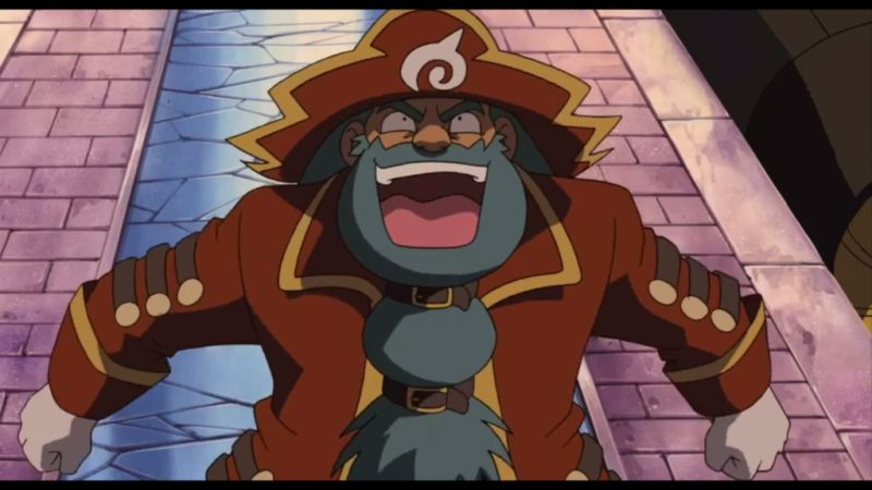 Pokémon Ranger and the Temple of the Sea Phantom evil laugh
