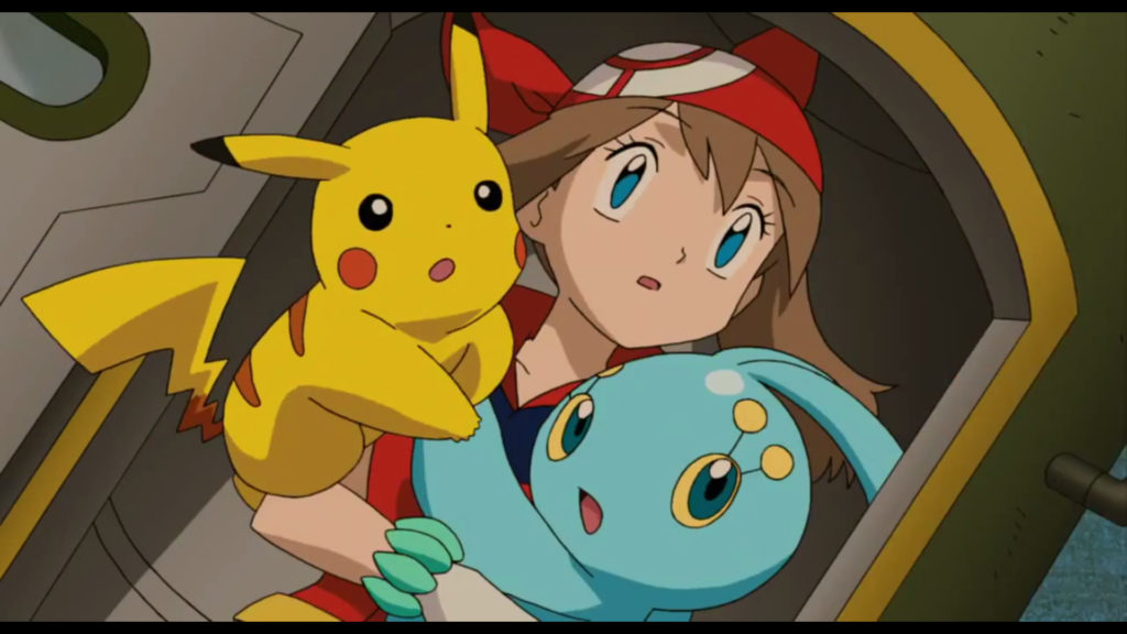 Pokemon Ranger And The Temple Of The Sea May Manaphy Pikachu