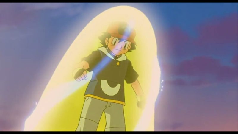 Pokémon Ranger and the Temple of the Sea Super Ash Ketchum goes Super Sonic