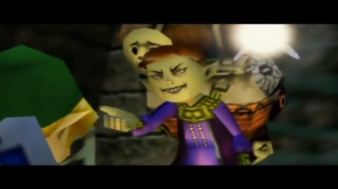 The Legend of Zelda: Majora's Mask angry Happy Masked Salesman