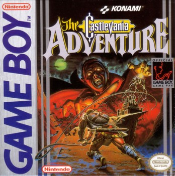 Castlevania: The Adventure game cover