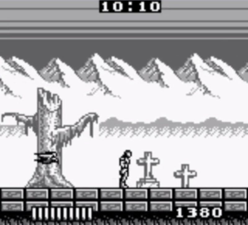 Castlevania: The Adventure game boy gameplay