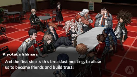 Danganronpa: Trigger Happy Havoc gameplay