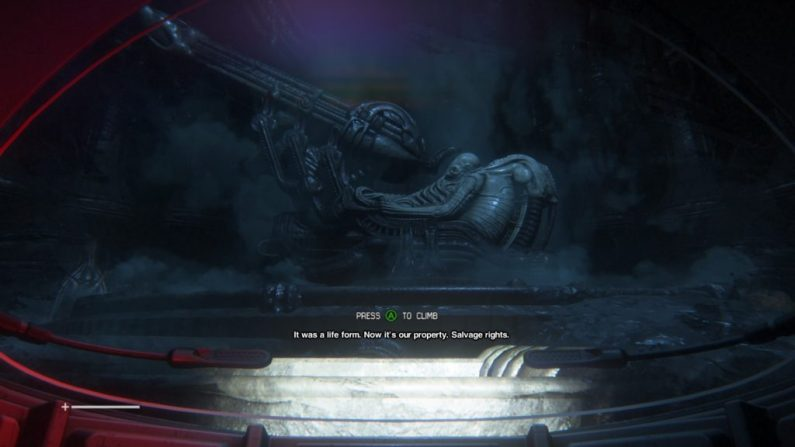 Alien: Isolation gameplay