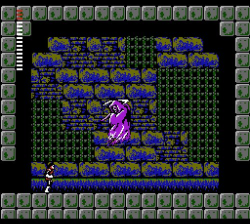 Castlevania II: Simon's Quest gameplay Death boss