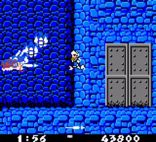 Ghosts 'n Goblins game boy color gameplay