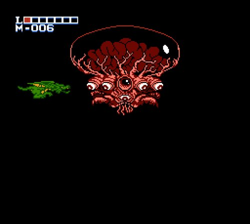 Holy Diver Famicom gameplay final boss