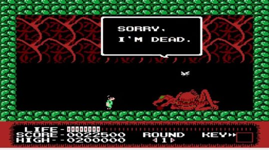 Monster Party NES gameplay Sorry I'm Dead