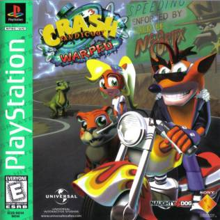 Crash Bandicoot 3: Warped box cover art