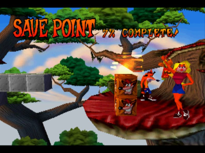 Crash Bandicoot PS1 Tawna