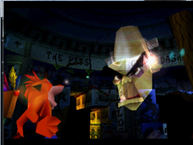 Crash Bandicoot 2: Cortex Strikes Back Crash and Dr. Nitrus Brio