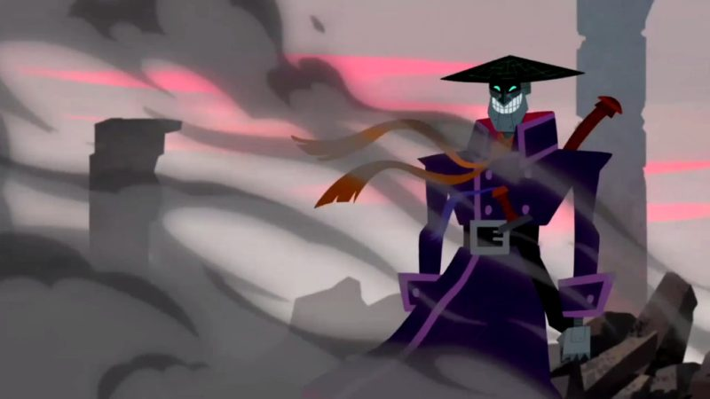 Samurai Jack Scaramouche the Merciless