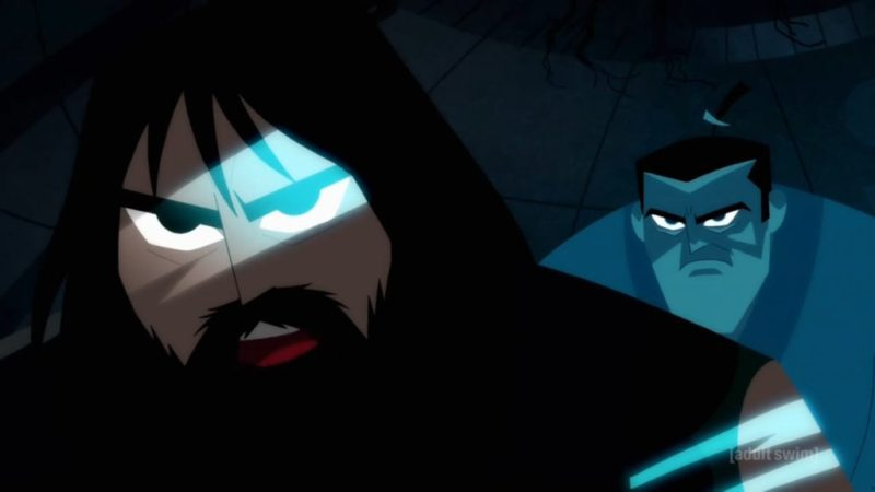 Samurai Jack Season 5 old Jack and past Jack