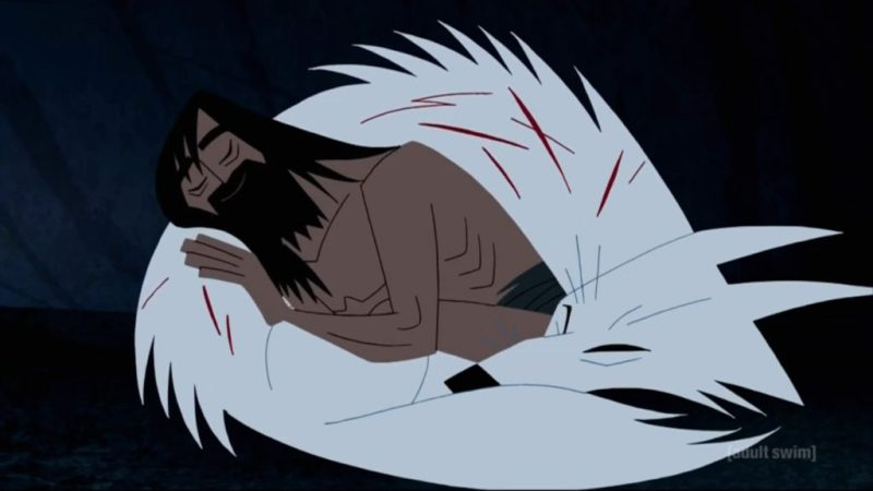 Samurai Jack season 5 Jack and the white wolf