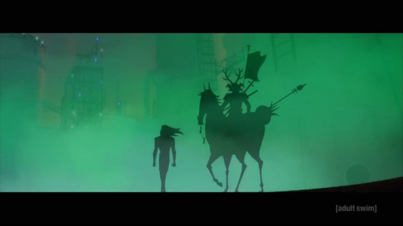 Samurai Jack season 5 Jack and horseman