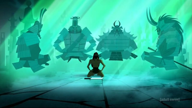 Samurai Jack season 5 Omen and samurai spirits